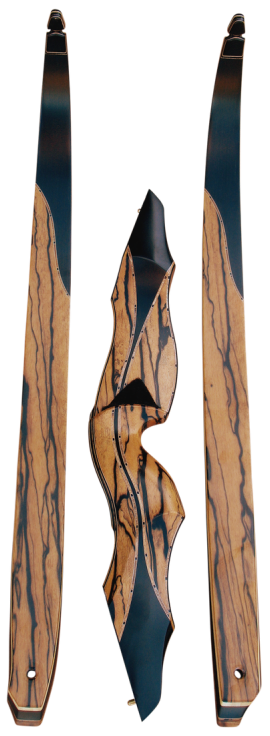beautiful handcrafted custom recurve bow Blacktail