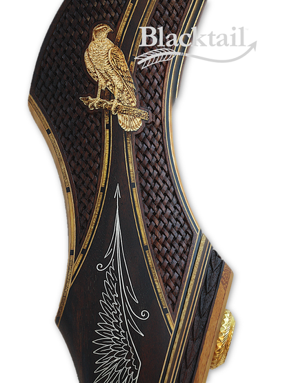 Blacktail Bows beautiful carved recurve bows