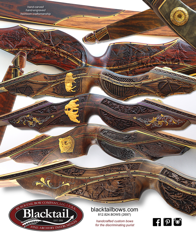 best recurve bow most beautiful bow traditional archery Blacktail