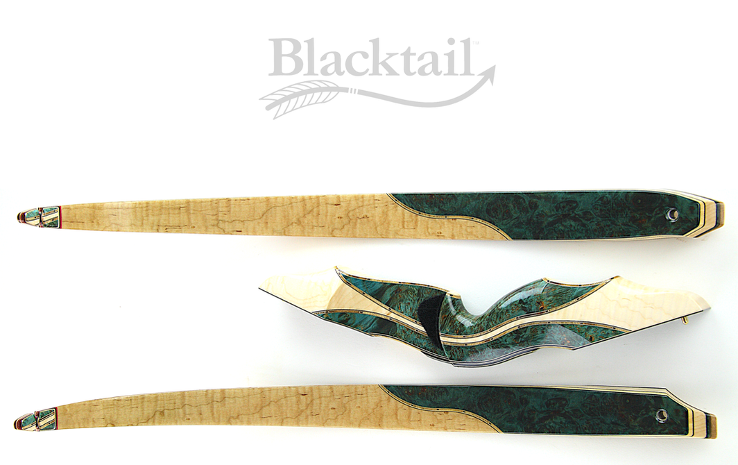 Most beautiful recurve bows Blacktail traditional archery bows