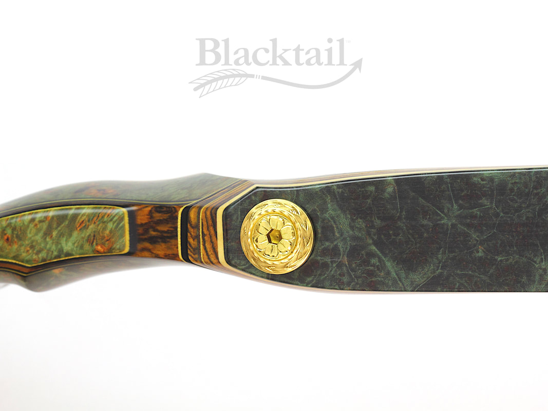 Blacktail most beautiful carved recurve bows traditional archery